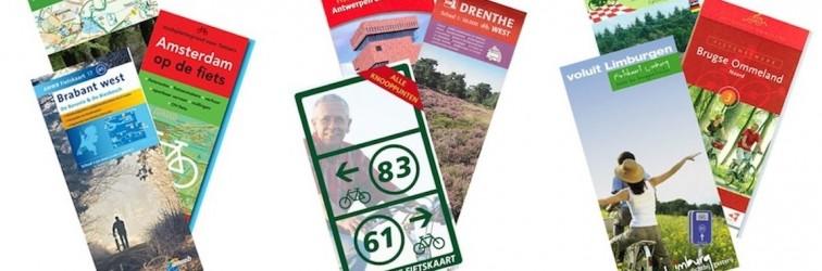 Bestel hier alle fietskaarten voor Nederland en België